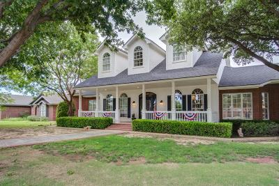 Lubbock Single Family Home For Sale: 7314 93rd Street