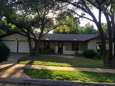 Lubbock Single Family Home For Sale: 3508 63rd Drive