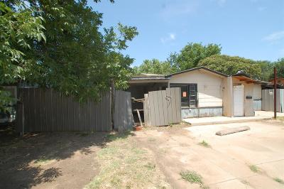 Lubbock Single Family Home For Sale: 2112 47th Street