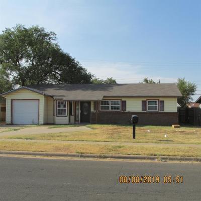 Lubbock Single Family Home For Sale: 2603 E Colgate Street