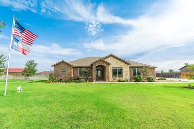 Lubbock Single Family Home For Sale: 2002 County Road 7570