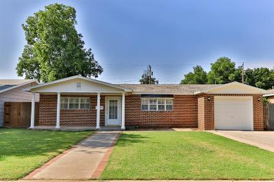 Lubbock Single Family Home For Sale: 3111 43rd Street