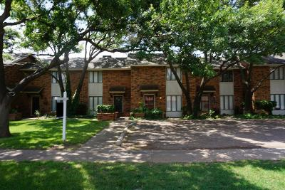 Lubbock Townhouse For Sale: 2323 33rd Street