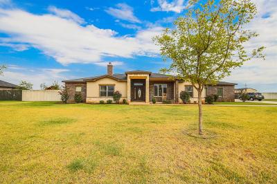 Lubbock Single Family Home Contingent: 1704 County Road 7560
