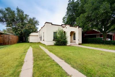 Lubbock Single Family Home For Sale: 2121 25th Street