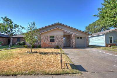 Lubbock Single Family Home Under Contract: 6311 27th Street
