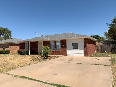 Lubbock Single Family Home For Sale: 4636 Fordham Street