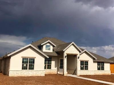Lubbock Single Family Home For Sale: 13409 Gardner Avenue