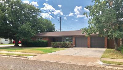 Lubbock Single Family Home Under Contract: 2101 68th Street