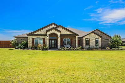 Lubbock Single Family Home Contingent: 2001 County Road 7570
