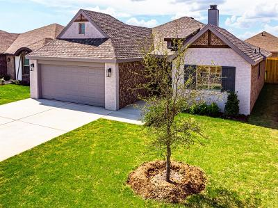 Lubbock Single Family Home Under Contract: 2313 103rd Street