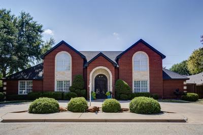 Lubbock Single Family Home For Sale: 8702 Toledo Avenue