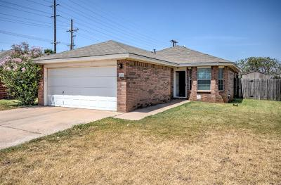Lubbock Single Family Home Under Contract: 1440 77th