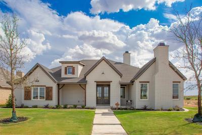 Lubbock Single Family Home For Sale: 3525 141st Street