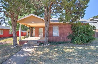 Lubbock Single Family Home For Sale: 2215 14th Street