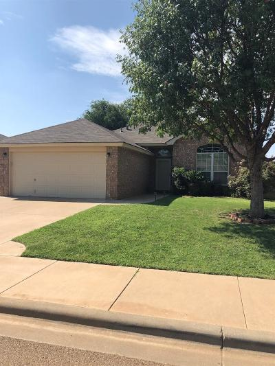 Lubbock Single Family Home Under Contract: 6809 6th Street