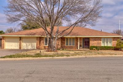 Lubbock Single Family Home For Sale: 3404 93rd Street