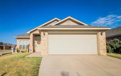 Lubbock Single Family Home Under Contract: 9806 Sherman Avenue