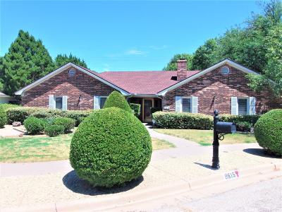 Lubbock Single Family Home For Sale: 8615 Utica Avenue