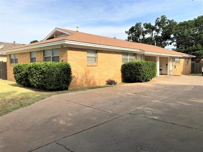 Lubbock Multi Family Home For Sale: 1604 58th Street