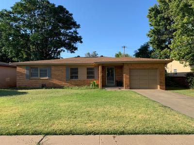 Lubbock Single Family Home For Sale: 3517 47th Street
