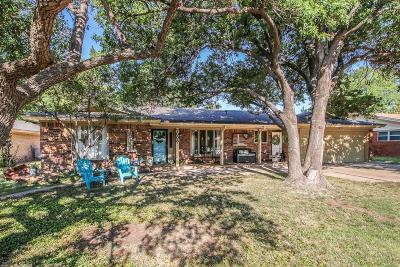 Lubbock Single Family Home For Sale: 7008 Miami Avenue