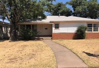 Lubbock Single Family Home For Sale: 3802 25th Street