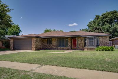 Lubbock Single Family Home For Sale: 5714 69th Street