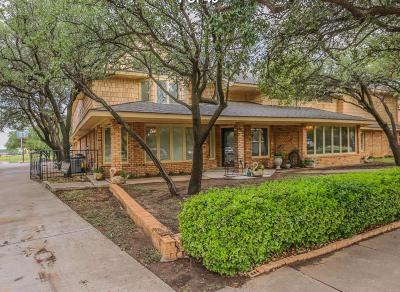 Lubbock Single Family Home For Sale: 8406 Wayne Avenue