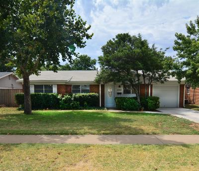 Lubbock Single Family Home Under Contract: 5205 42nd Street