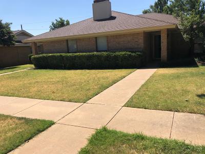 Lubbock Rental For Rent: 4613 54th Street