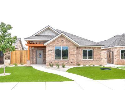 Lubbock Garden Home For Sale: 3805 59th Street