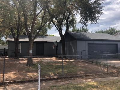 Lubbock Single Family Home Under Contract: 9227 Belton Avenue