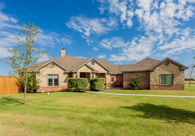 Lubbock Single Family Home Under Contract: 7007 N County Road 2160