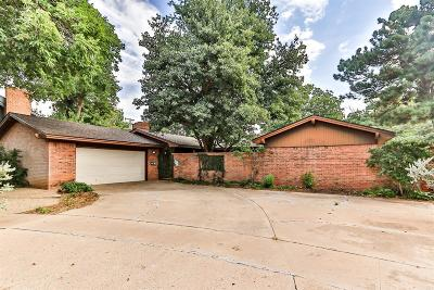 Lubbock Single Family Home For Sale: 6215 Louisville Drive