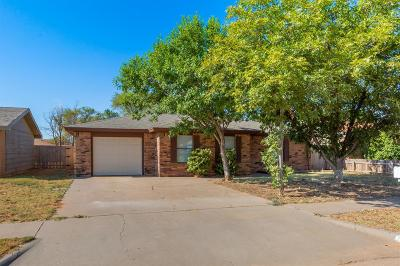 Lubbock Single Family Home Under Contract: 808 E 78th Street