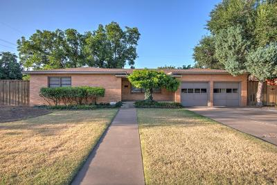 Lubbock Single Family Home For Sale: 3601 42nd Street