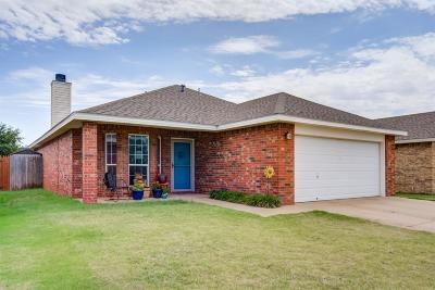 Lubbock Single Family Home For Sale: 6507 86th Street
