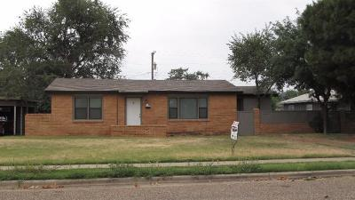 Lubbock Rental For Rent: 5605 44th Street