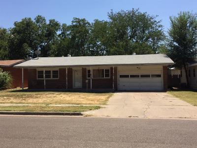 Lubbock Single Family Home For Sale: 3807 26th Street