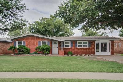Lubbock Single Family Home For Sale: 4921 49th Street