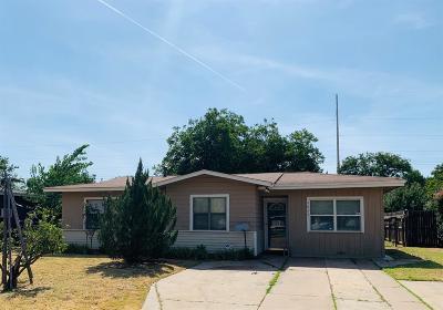 Lubbock Rental For Rent: 4624 Detroit Avenue