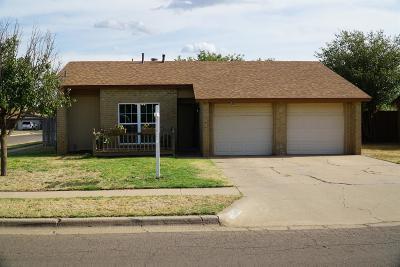 Single Family Home For Sale: 6001 14th Street