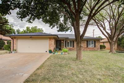 Lubbock County Single Family Home For Sale: 6407 Elkhart Avenue