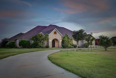 Lubbock Single Family Home Under Contract: 3405 County Road 7610