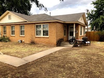 Lubbock Multi Family Home For Sale: 1718 46th Street
