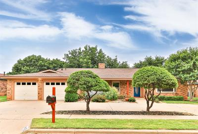 Lubbock Single Family Home For Sale: 5510 76th Street