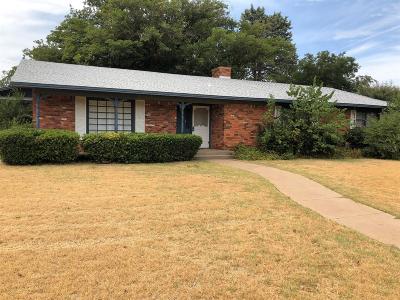 Slaton Single Family Home For Sale: 755 S 22nd Street