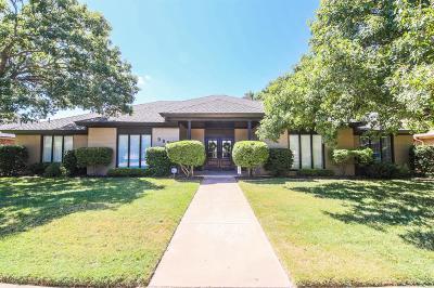 Lubbock Single Family Home For Sale: 9608 Utica Drive