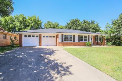 Lubbock Single Family Home For Sale: 3712 69th Street